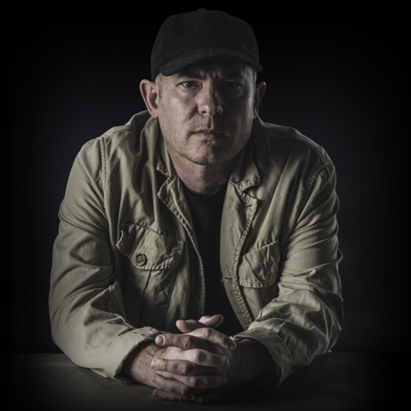 Photo of Dan Carlin, celebrated history podcaster and political commentator.